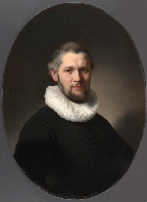 Portrait of Man with ruff collar