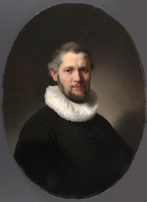 Portrait of Man with ruff collar