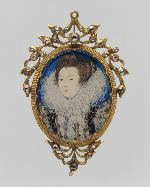 Woman with Collar - Miniature