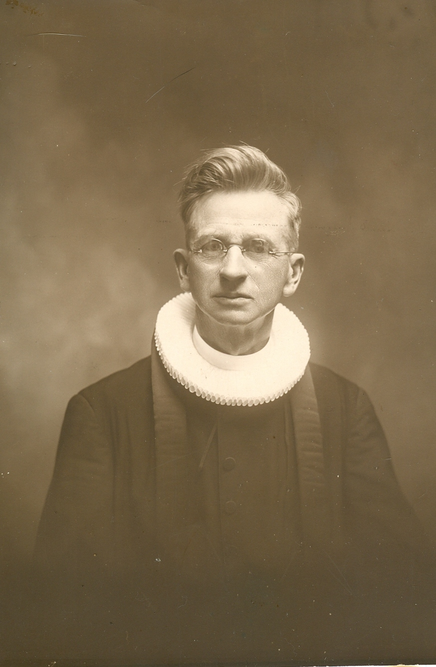 My Grandfather with Collar
